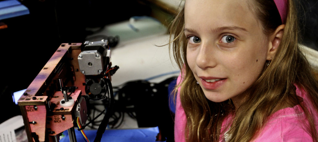 3-D Printers allow campers to turn their thoughts into reality