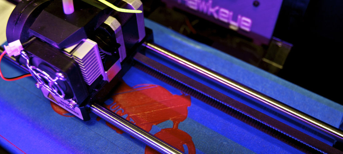 We have more 3-D printers than any other camp in New York