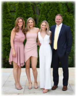 Mr. Rich, his wife Sabrina & daughters, Ariana and Olivia